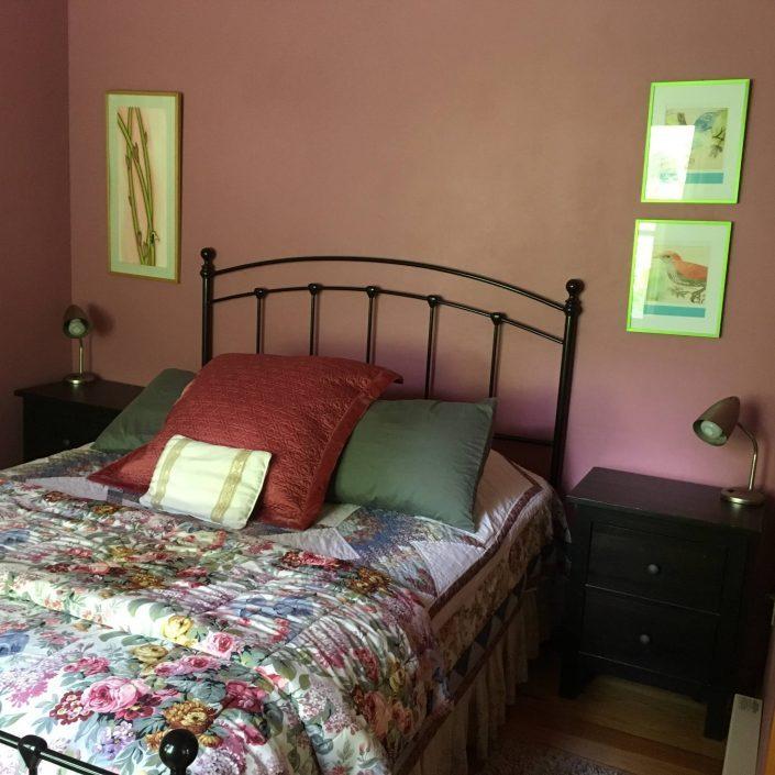 The Cedar Cabin Bedroom