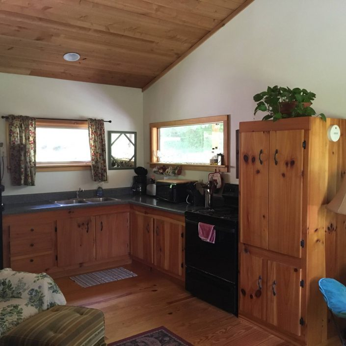 The Cedar Cabin Kitchen