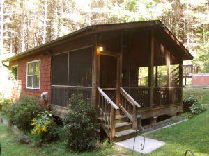 The Cedar Cabin Exterior