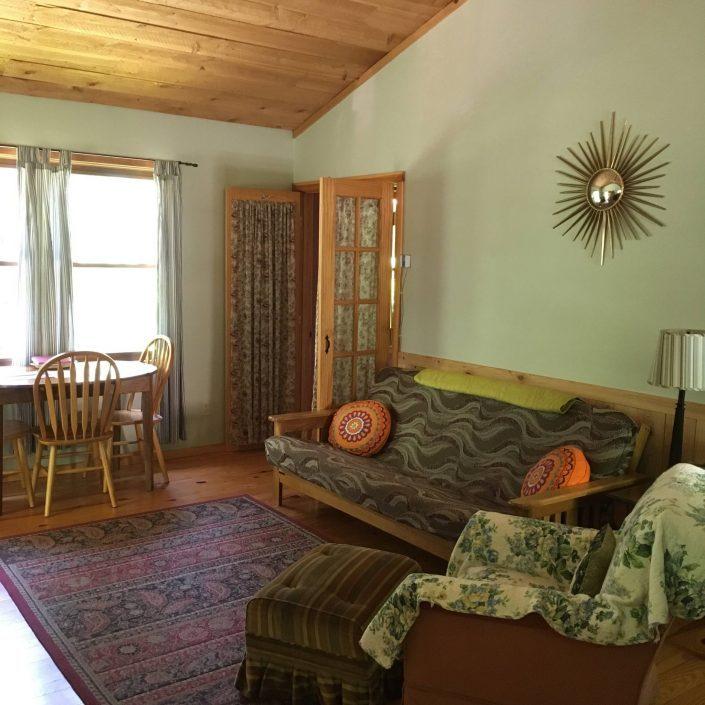 The Cedar Cabin Living Room