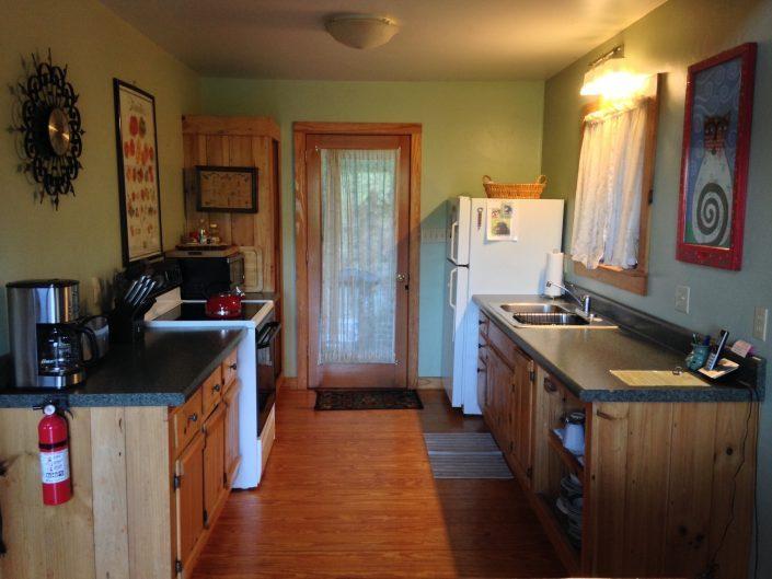 The Poplar Cabin Kitchen