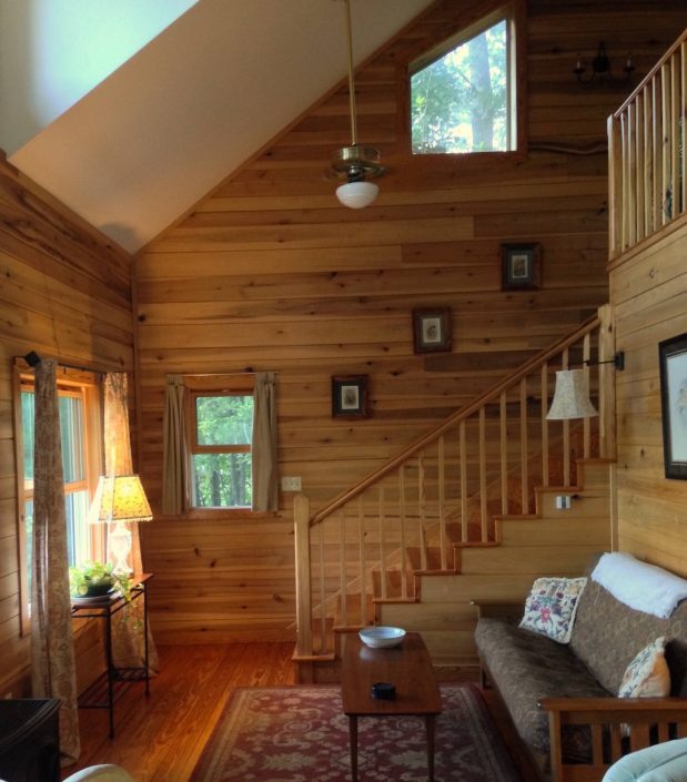 The Poplar Cabin Stairs