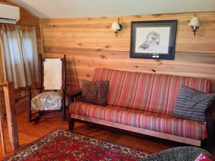 The Poplar Cabin Upstairs