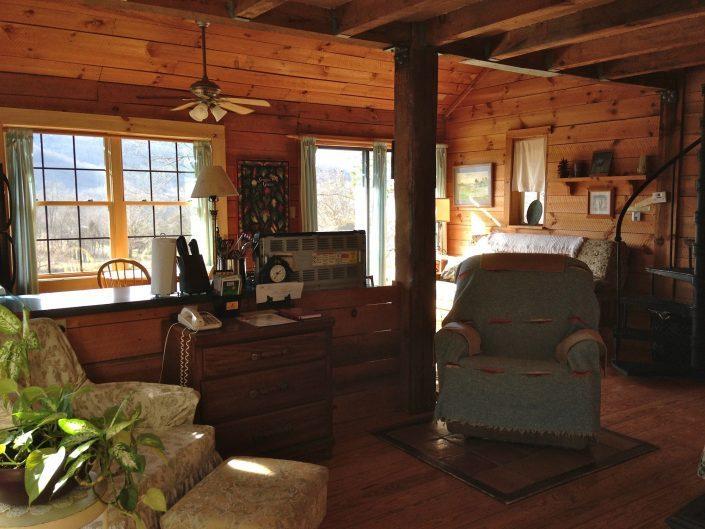 Pine Sitting Area