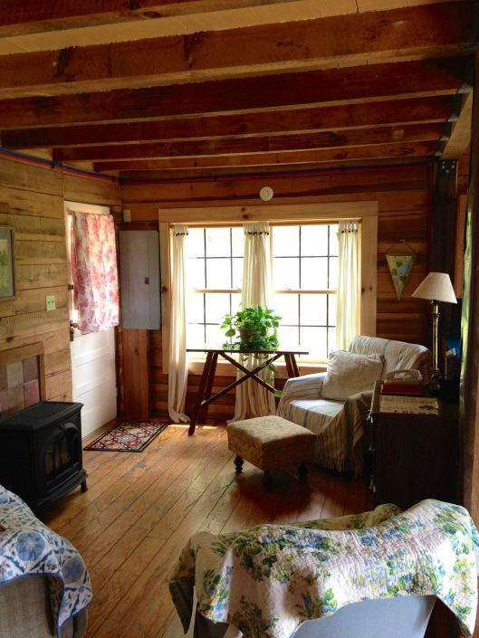 Pine Cabin Sunny Windows